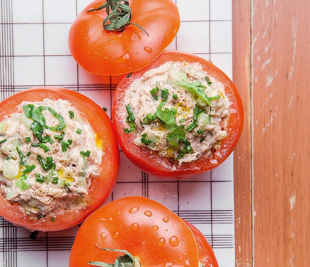 Ma recette de tomates farcies d 39 t laurent mariotte - Toutes les recettes de petit plat en equilibre ...