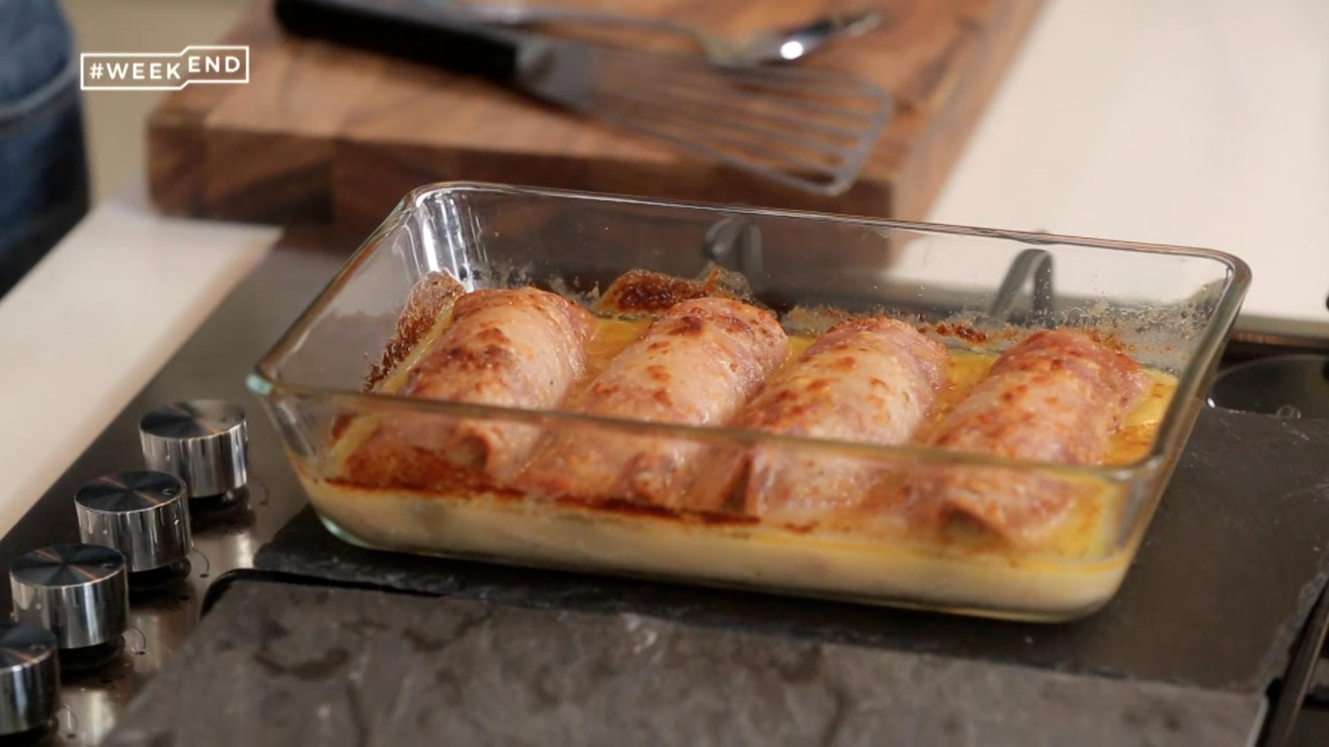 Ma recette des endives au jambon laurent mariotte - Recette endives au jambon ...