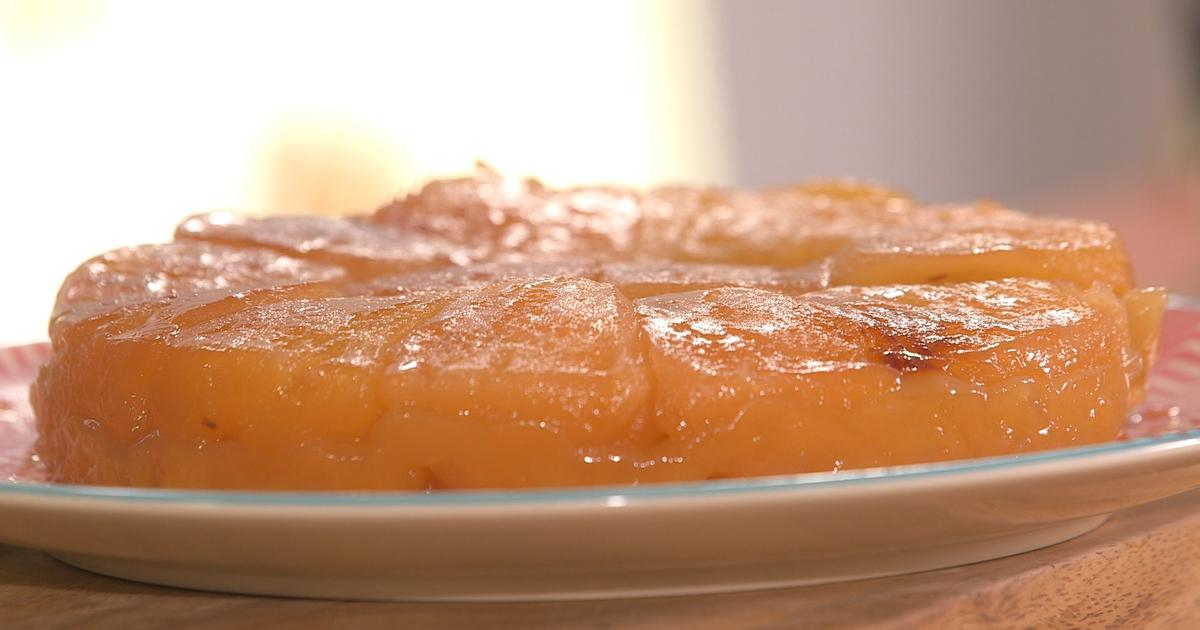ma recette de tarte tatin laurent mariotte. Black Bedroom Furniture Sets. Home Design Ideas