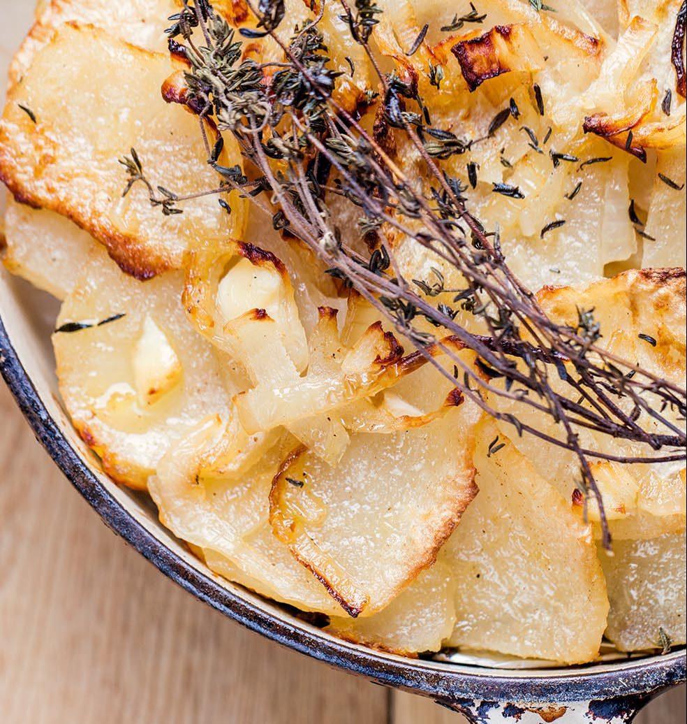 Ma recette de gratin de navets façon pommes boulangères