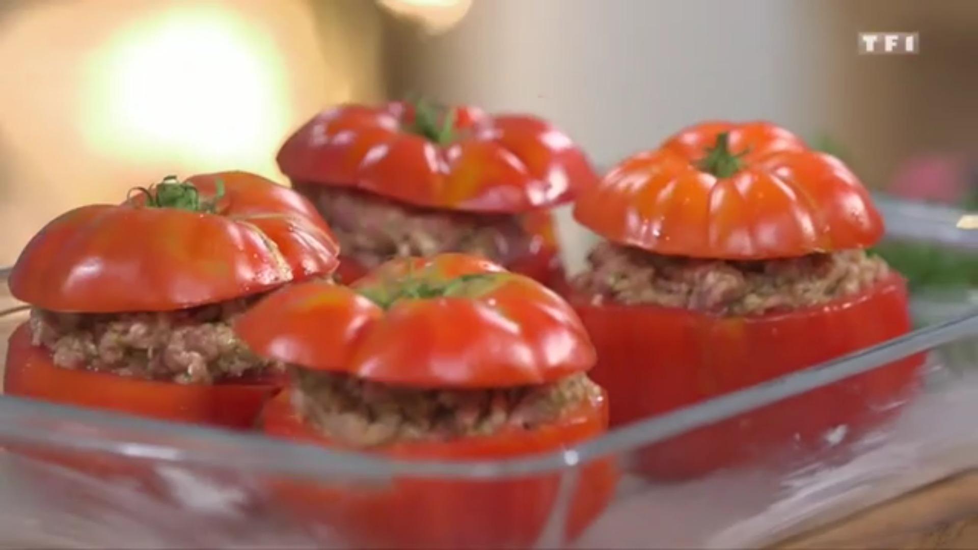 Ma recette de tomates farcies laurent mariotte - Tf1 recettes cuisine laurent mariotte ...