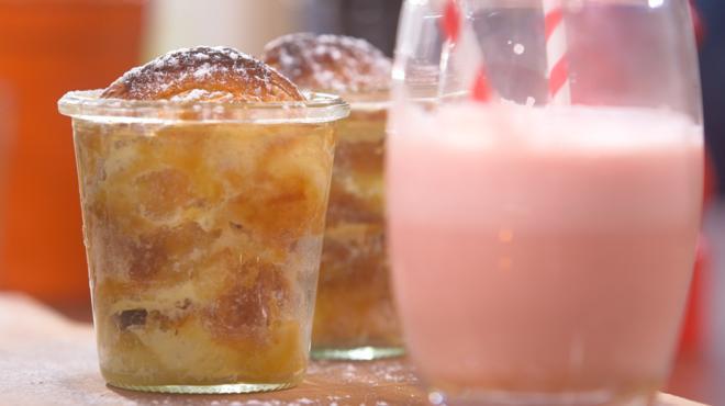 Ma recette de croissants perdus et lait rose bonbon - Recette cuisine tf1 petit plat en equilibre ...