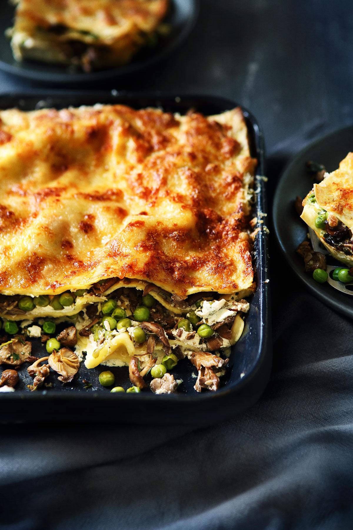 Lasagne Idee Recette.Mes Recettes Vegetariennes Laurent Mariotte