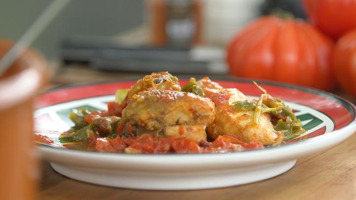 recette laurent mariotte poulet basquaise