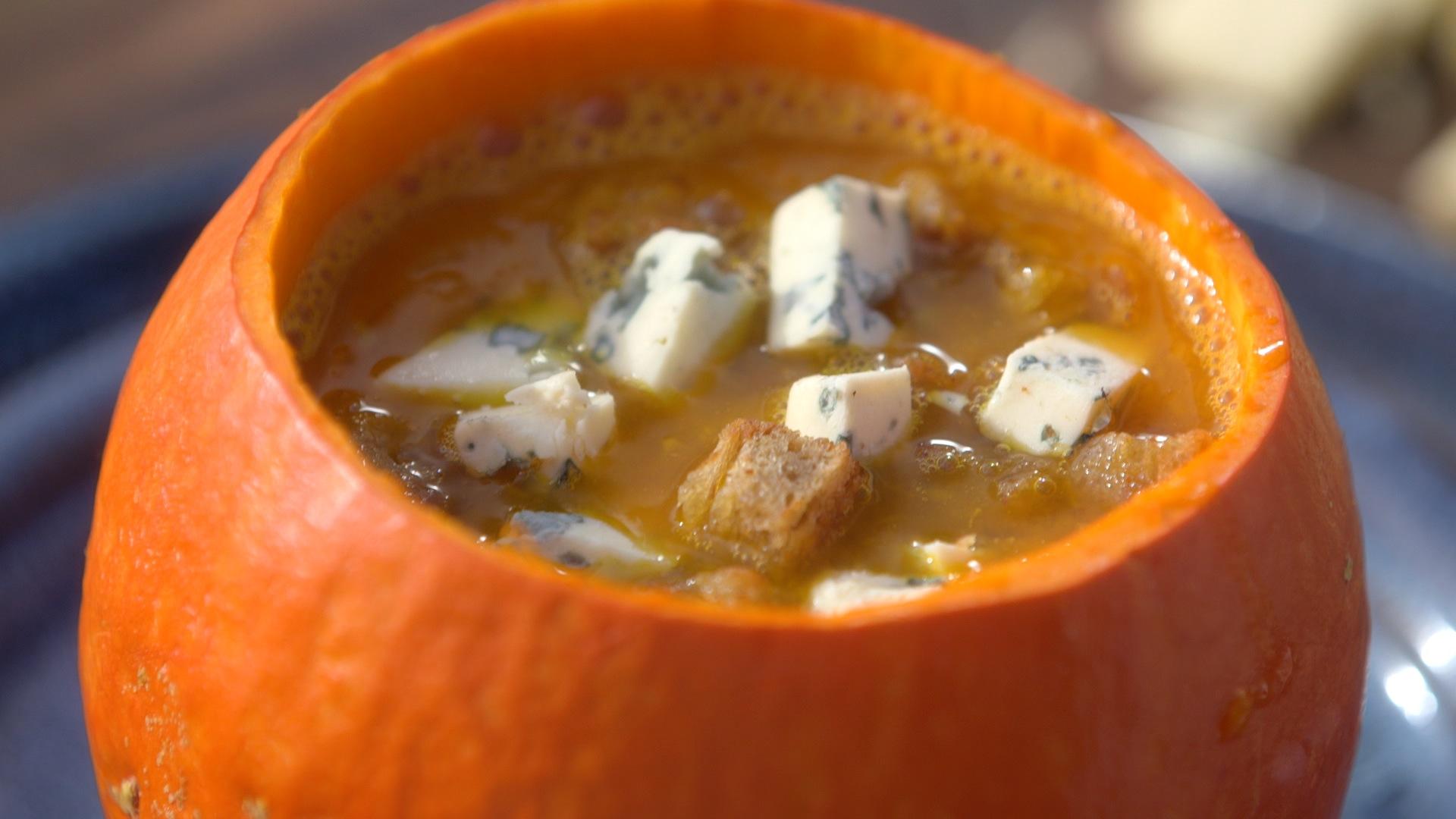 Ma recette de soupe de potimarron la fourme d 39 ambert - Dernier livre de cuisine de laurent mariotte ...