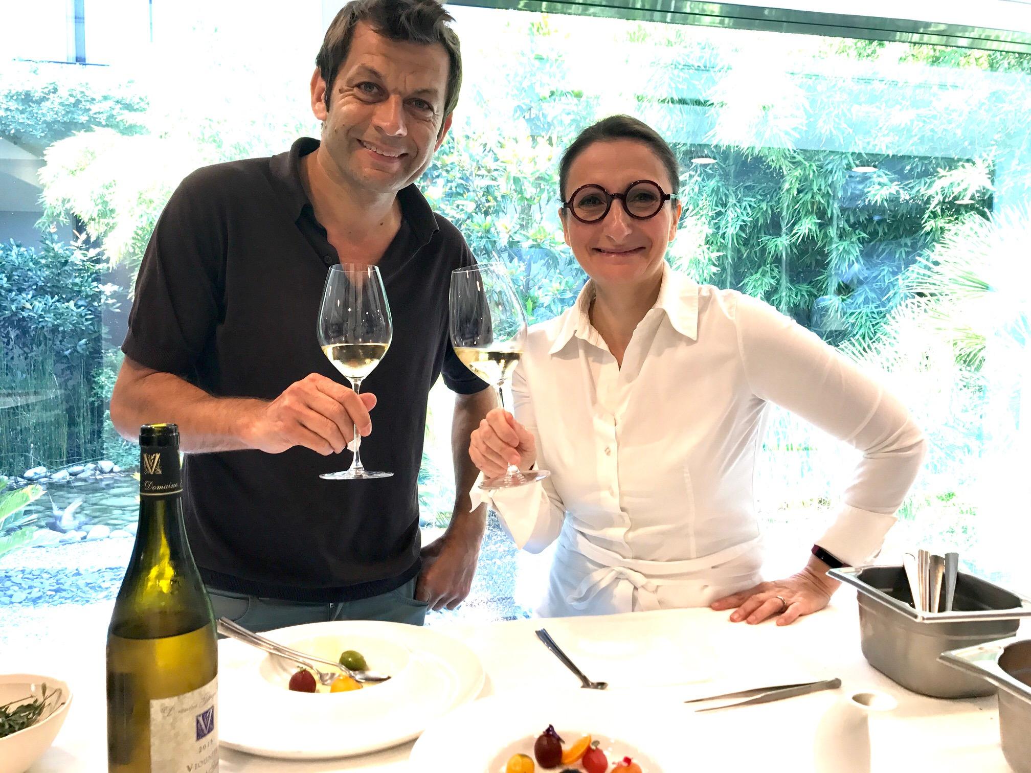 France info la transmission en cuisine avec anne sophie - Cuisine laurent mariotte ...