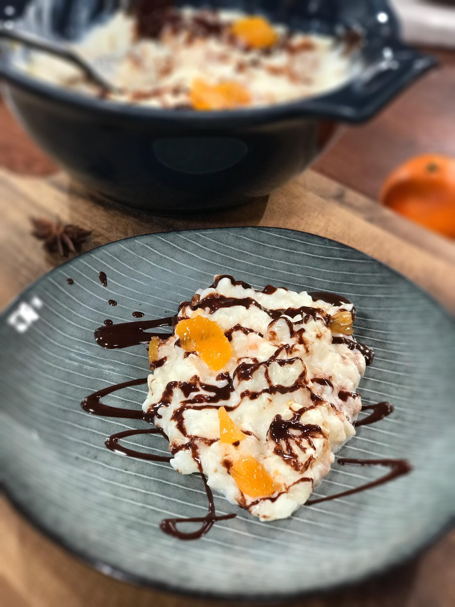 Ma recette de riz au lait sauce chocolat laurent mariotte - Mytf recettes de cuisine laurent mariotte ...