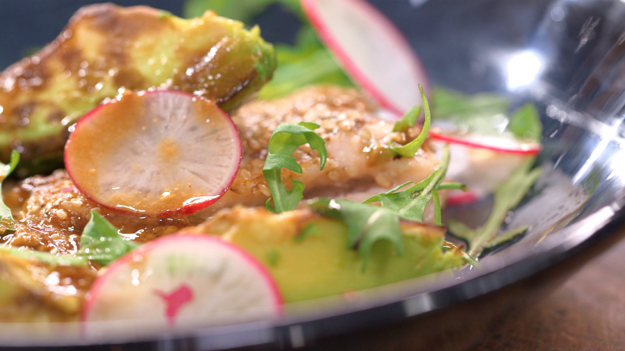 Ma recette de truite mi cuite et avocat grill laurent - Mytf recettes de cuisine laurent mariotte ...